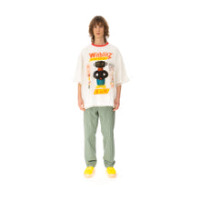 Load image into Gallery viewer, Walter Van Beirendonck | O-Arm Double Oversized T-Shirt White / Transparant
