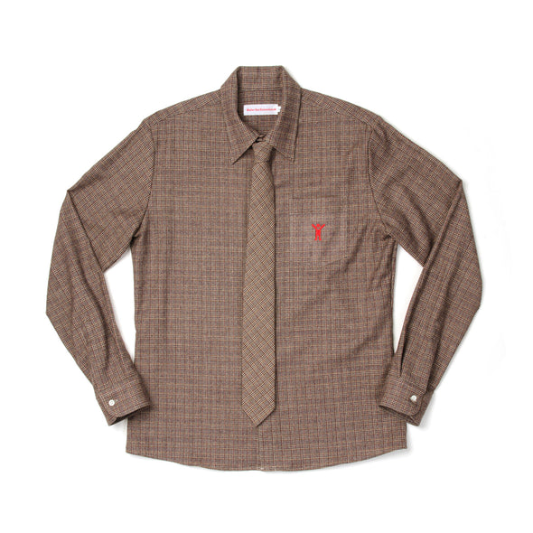 Walter van Beirendonck Basic Shirt Sharp Brown - Concrete