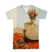 Afbeelding in Gallery-weergave laden, Walter Van Beirendonck T-Dress Slik Vase - Concrete