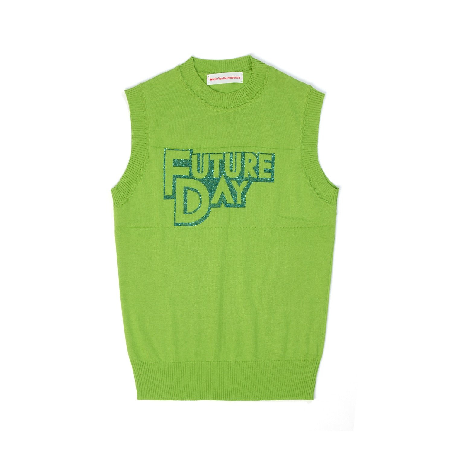 Walter van Beirendonck T Future Day Green - Concrete