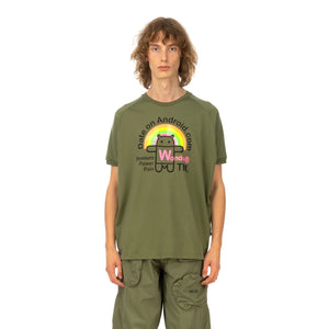 Walter Van Beirendonck | Android T-Shirt Army - Concrete