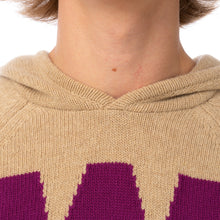 Load image into Gallery viewer, Walter van Beirendonck | War Knitted Hoodie Camel