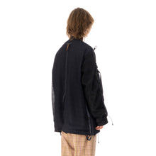 將圖像加載到畫廊查看器中White Mountaineering | Mesh Shirring MA-1 Jacket Navy