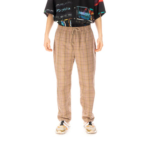 White Mountaineering | Multi Check Pajama Pants Beige - Concrete
