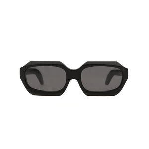 KUBORAUM Sunglasses & Case X2 56-19 BM Black - Concrete