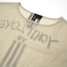 Load image into Gallery viewer, adidas Y-3 W Yohji Love Mesh L/S T-Shirt Salty Champagne - DY7148