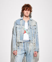 將圖像加載到畫廊查看器中FACETASM | x LEVI'S® M Linked Trucker Jacket Denim Blue - Concrete