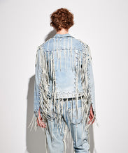 Afbeelding in Gallery-weergave laden, FACETASM | x LEVI'S® M Linked Trucker Jacket Denim Blue