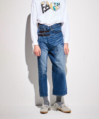 FACETASM | x LEVI'S® Wide & Slim 501 Jean Denim
