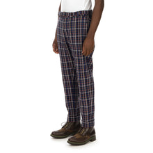 將圖像加載到畫廊查看器中YOOST | Mr. Bootcamp Trousers Blue Check - Concrete
