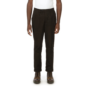 YOOST | Mr. Serge Trousers Dark Green - Concrete