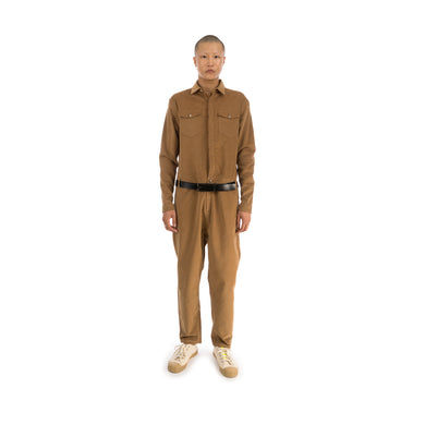 YOOST Boiler Suit Gold Brown