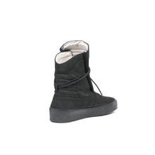 將圖像加載到畫廊查看器中Ylati Giove High Nubuck Black - Concrete
