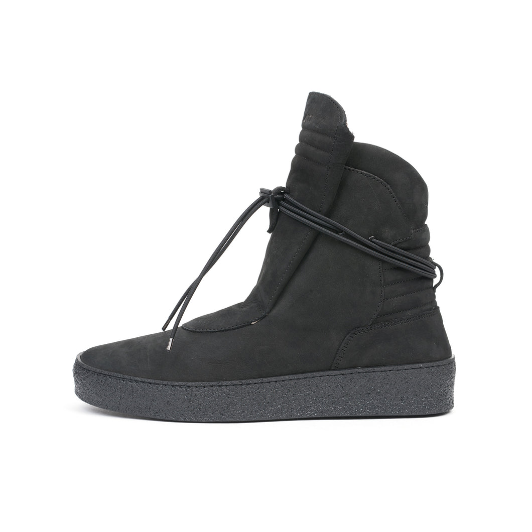 Ylati Giove High Nubuck Black - Concrete