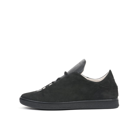 Ylati Virgilio Low Nubuck Black - Concrete