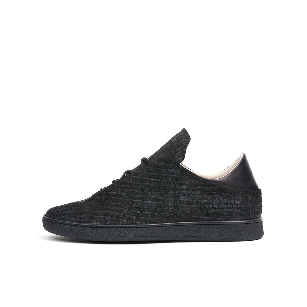 Ylati Virgilio Low Reptile Nubuck Black