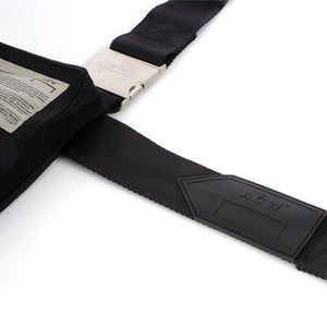 A-COLD-WALL* | V2 Holster Bag w. Multiple Pockets Black - Concrete