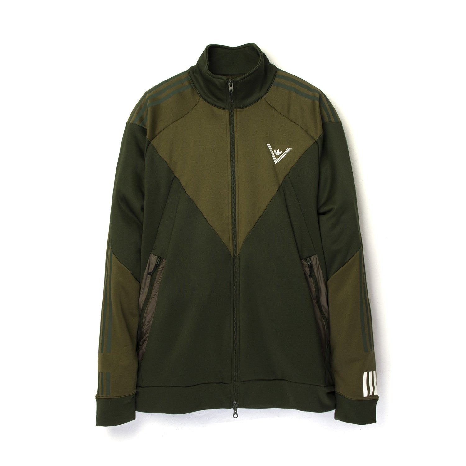 c2ba293ffd92 adidas Originals x White Mountaineering Track Top Trace Olive – Concrete