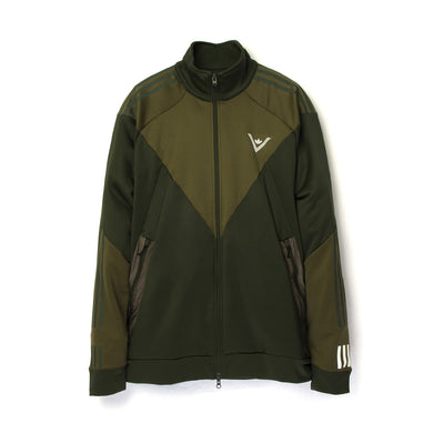 adidas Originals x White Mountaineering Track Top Trace Olive - Concrete