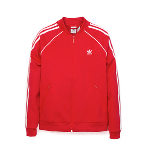 adidas Originals W SST Track Top Red