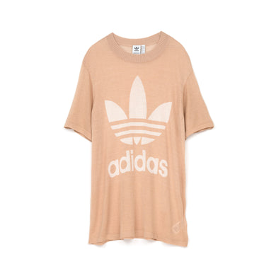 adidas Originals W Big Trefoil T-Shirt Ash Pearl