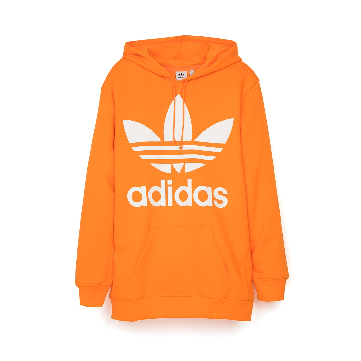 adidas Originals Oversized Trefoil Hoodie Orange  Orange