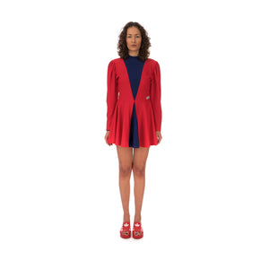 adidas | x Lotta Volkova Ice Skate Dress Red / Dark Blue - Concrete