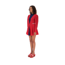 Afbeelding in Gallery-weergave laden, adidas | x Lotta Volkova Ice Skate Dress Red / Dark Blue