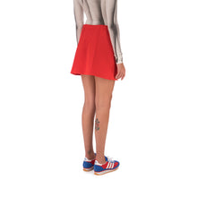 Load image into Gallery viewer, adidas | x Lotta Volkova Tennis Skirt Red - Concrete