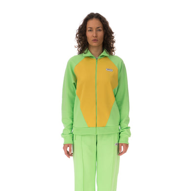 adidas | x Lotta Volkova Podium Track Top Sharp Yellow - Concrete