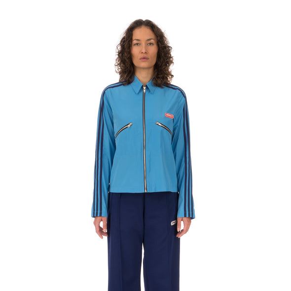 adidas | x Lotta Volkova Zip Shirt Light Blue - Concrete