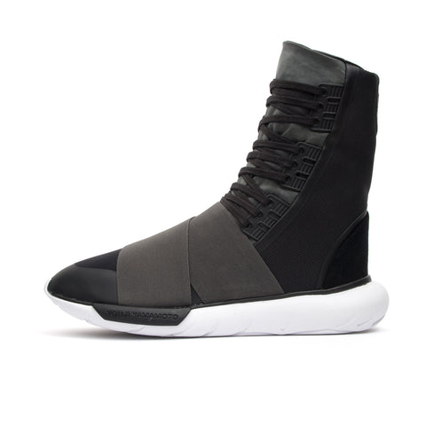 adidas Y-3 Qasa Boot Charcoal Melange/Core Black