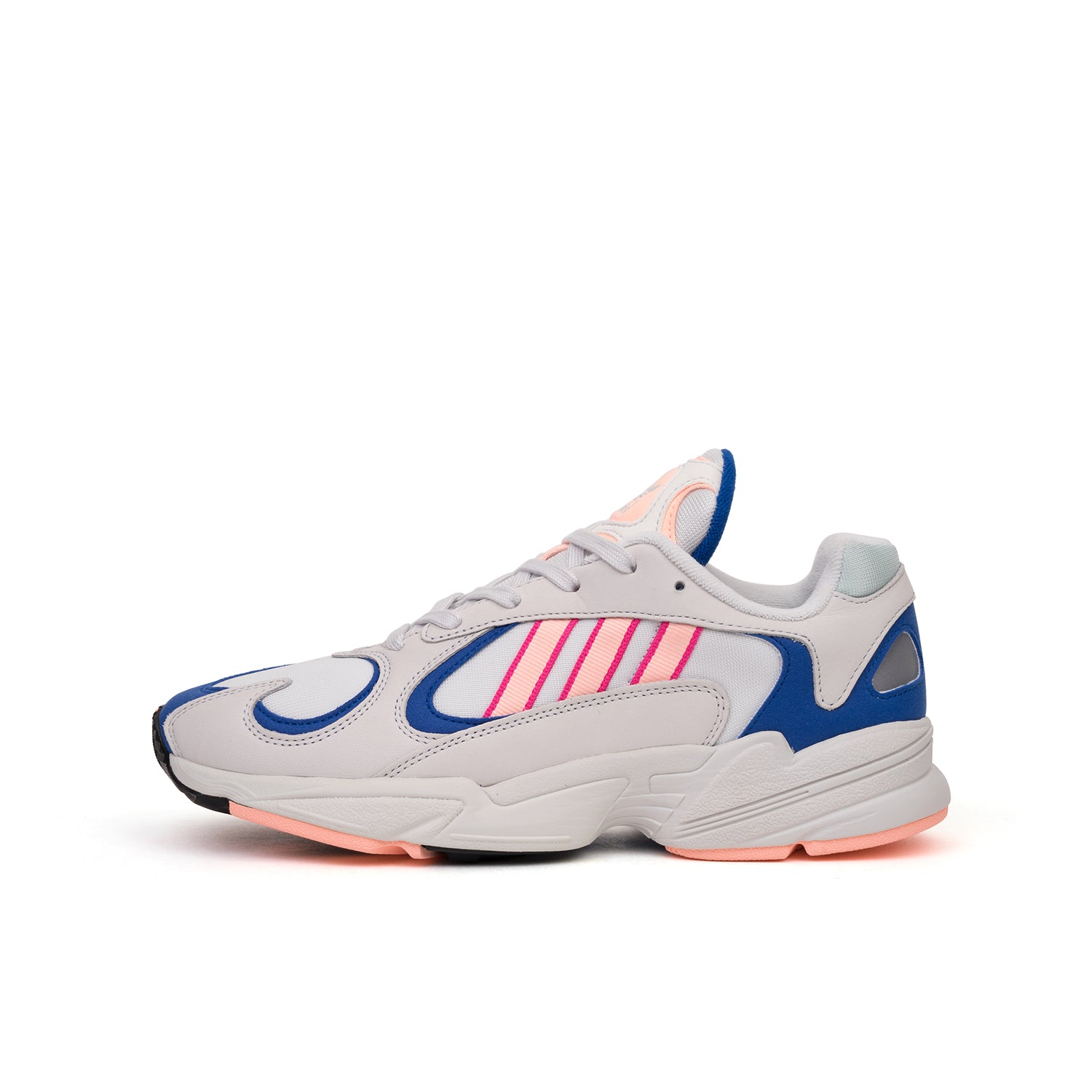 new products 1a12c 415ef adidas Originals Yung-1 Crystal White   Clear Orange – Concrete