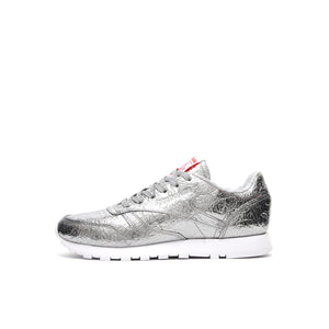 Reebok W Classic CL Leather HD Silver/Snowy Grey - Concrete