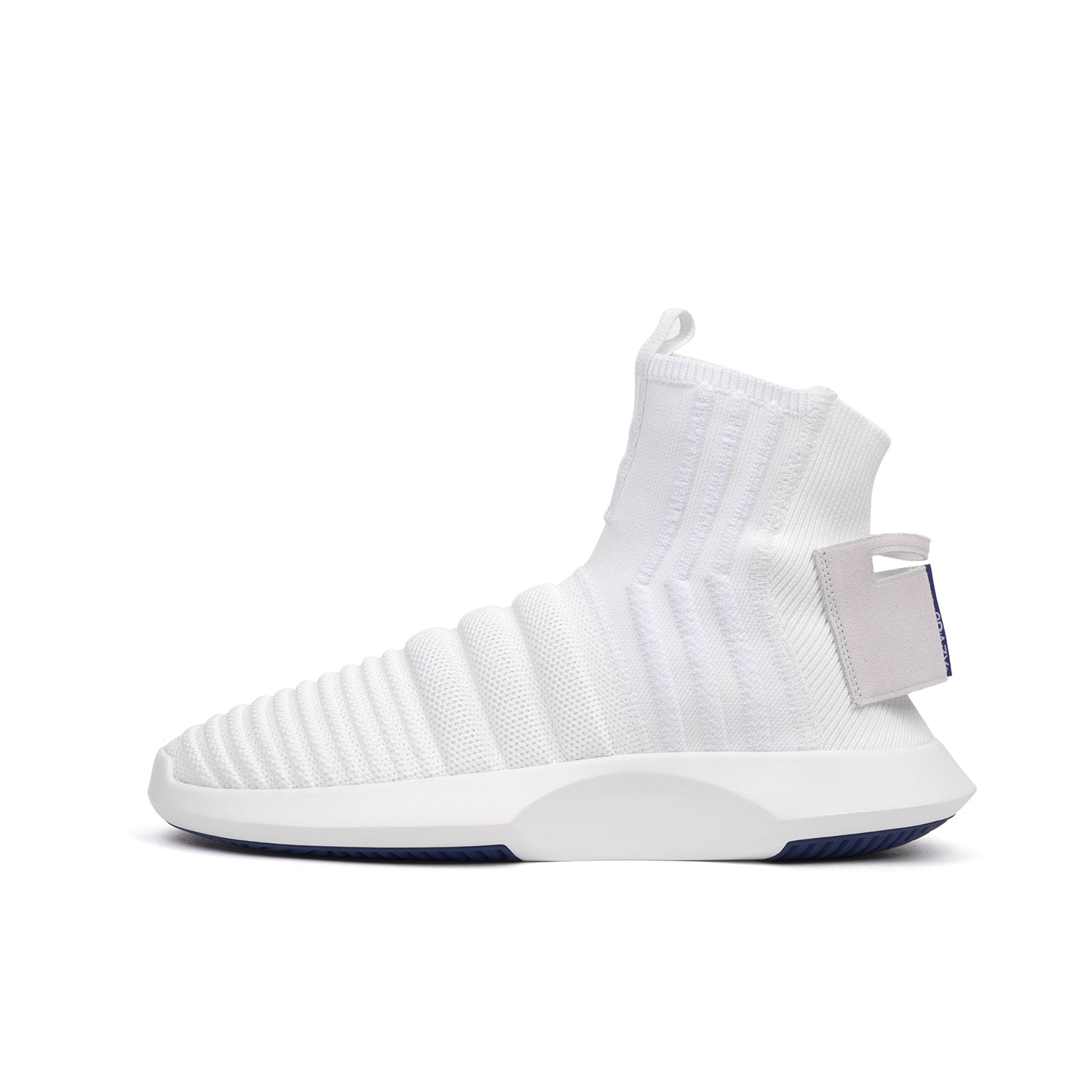 new product 014bc 9e6a9 adidas Originals Crazy 1 ADV Sock PK (ASW) WhiteReal Purple