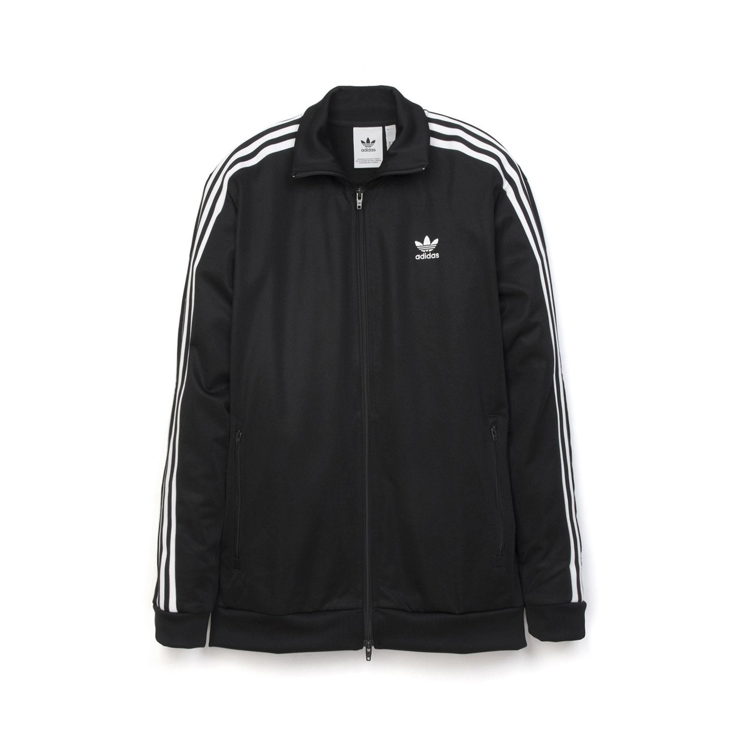 black on black adidas track jacket