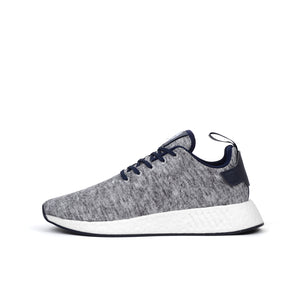 adidas Originals UA&SONS NMD_R2 PK Core Heather/Matte Silver
