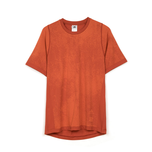 adidas | x UNDEFEATED Knit T-Shirt Orange