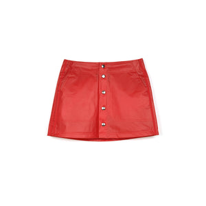 adidas Originals x Fiorucci W Kiss Mini Skirt Red