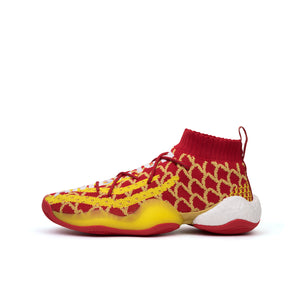 adidas Originals x Pharrell Williams BYW 'CNY' Scarlet / Bright Yellow - Concrete