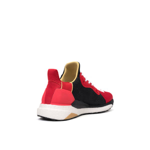 adidas Originals x Pharrell Williams 'CNY' Solar Hu Glide Scarlet / Black
