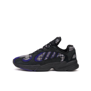 adidas Originals Yung-1 'Plaid Blue' Black