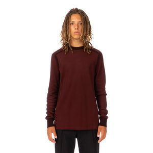 adidas Y-3 | M Classic Knitted Crew Sweater Night Red - GK4528