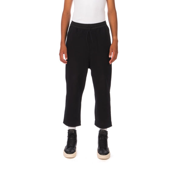 adidas Y-3 | M Classic Wool Striped Cropped Pant Black - GK4586 - Concrete