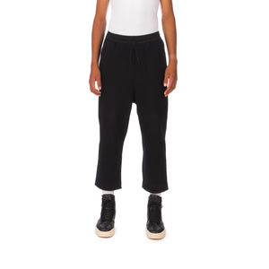 adidas Y-3 | M Classic Wool Striped Cropped Pant Black - GK4586
