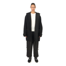 Load image into Gallery viewer, adidas Y-3 | W CH3 Wool Melton Duffle Coat Black - GK4852 - Concrete