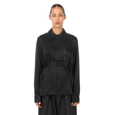 adidas Y-3 | W CH3 Tech Silk Shirt Black - GK4835