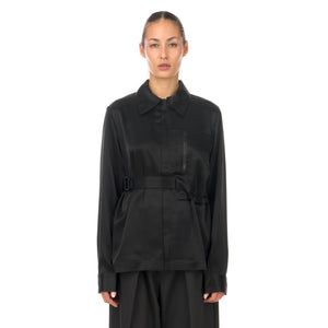 adidas Y-3 | W CH3 Tech Silk Shirt Black - GK4835 - Concrete