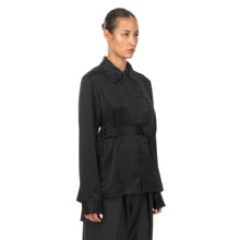 Afbeelding in Gallery-weergave laden, adidas Y-3 | W CH3 Tech Silk Shirt Black - GK4835