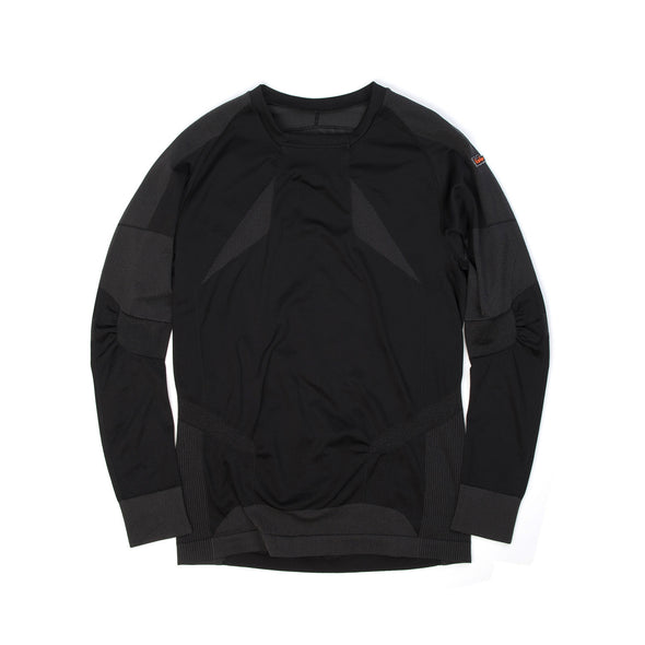 adidas | By Kolor Warp Knit Top Black